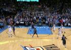 Hubo duelo hasta que Durant quiso: ¡triplazo ganador!