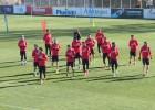 El Atleti sigue preparando el duelo ante el Eibar sin Jackson