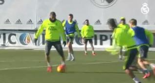Combinación magnífica entre Cristiano Ronaldo y Benzema