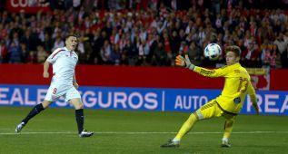Gameiro marca ante el Celta en Copa del Rey 2016