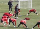 Defensa inédita del Atleti: Gámez, Giménez, Saúl y Lucas
