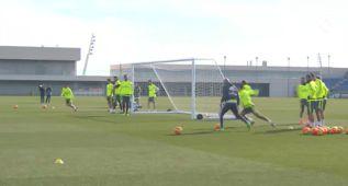 Bale y Pepe no se ejercitan, serán bajas ante el Granada