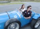 Así ruedan los coches clásicos del mítico Manuel Fangio