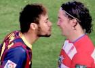 Uno con 'Colocho' Iturra: Todos los encontrones de Neymar