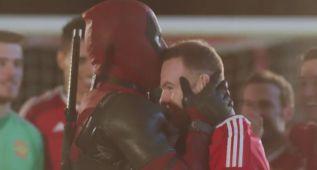 Deadpool, el `superhéroe´ que sueña con jugar en el United