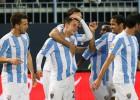 El Málaga se lleva una cómoda victoria en La Rosaleda