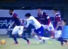 Así fue la expulsión de 'Matigol' en empate de la Fiorentina