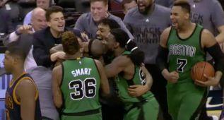 El triple ganador de Avery Bradley lidera el Top-10 NBA