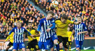 El Dortmund no pasa del empate en casa del Hertha