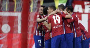 Merecida victoria del Atlético de Madrid ante un duro Eibar
