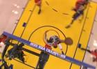 Por jugadas como esta, Iguodala fue MVP de las Finales