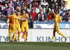 El Barça sufre pero gana ante un estupendo Levante