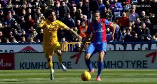 Morales dejó en evidencia a Alves: le fulminó en este sprint
