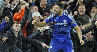 Diego Costa pone las tablas ante el United en el descuento