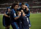 Modric le da a Zidane un triunfo agónico en Granada