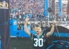 Curry hizo sonar el Keep Pounding de los Panthers