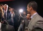 El abrazo significativo de Cristiano Ronaldo y Ancelotti