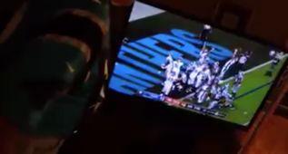 La tele que será devorada por un Fan de los Panthers