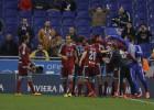Goleada descomunal de la Real ante un Espanyol condenado