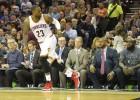 La bestia LeBron y su 'triple-doble' en solo tres cuartos