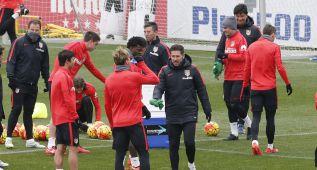 El Atlético de Madrid trabajó pensando en el Getafe