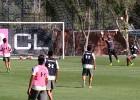 El golazo de Martín Tonso en la última práctica de Colo Colo