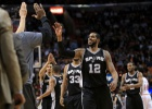 Los Spurs se llevan un duelo ajustado ante los Heat