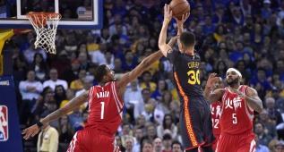 Los Warriors ganan a Houston y hacen récord histórico: 47-4