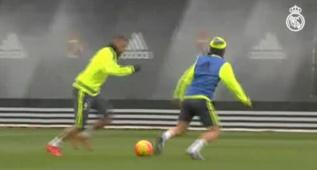 El giro de cadera de Benzema con el que dejó atrás a Modric