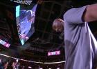 Emotivo homenaje a Kobe en Ohio: el público, en pie