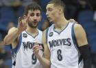 Un tremendo Ricky (19-8-8) guía a los 'Wolves' a la victoria