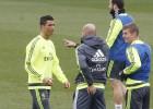 El Madrid prepara el choque ante el Athletic sin Pepe