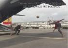 ¡Apoyan a la Selección de fútbol sala hasta en Gabón!