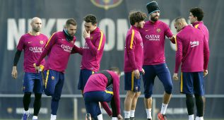 Messi apunta al Celta y entrena con total normalidad
