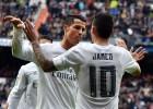 El Madrid impone su eficacia en un partido atractivo