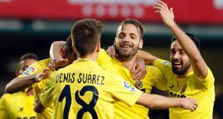 Soldado vuelve a marcar en un nuevo triunfo del Villarreal