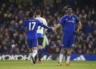 Pedro y Diego Costa lideran la goleada del Chelsea