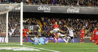 El gol de Cheryshev que desató la locura de todo Mestalla
