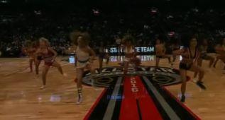 Lo mejor de lo mejor también en las cheerleaders ¡Vaya show!