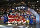 España golea a Rusia y gana su séptima corona europea