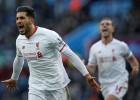 El Liverpool condena al Villa con una goleada en Birmigham