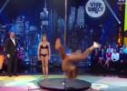 La caída de Miss Francia en directo haciendo Pole Dance
