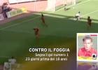 El primer gol de Totti en Serie A