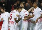 Llorente vuelve al ruedo y le da medio pase al Sevilla