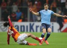 Galatasaray y Lazio aprietan y después se relajan