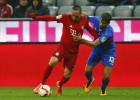Ribery volvió a jugar un año después... ¡y regaló un gol!
