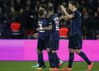 El PSG pasó por encima del Reims de la mano de Ibra