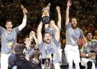 El Real Madrid conquista su tercera Copa consecutiva