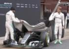 Así el W07, el nuevo bólido de Hamilton y Rosberg