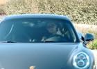 Flamante llegada en Porsche de Cristiano a Valdebebas